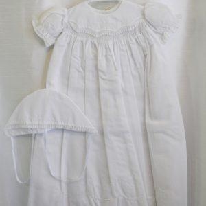 Girls Christening/Baptismal Gown w/ Matching Bonnet