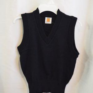 Plain Navy Sweater Vest