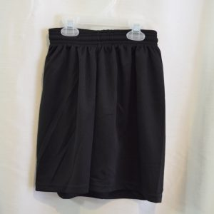 Black Gym Mesh Shorts