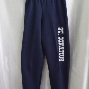 St Ignatius Navy Gym Sweatpant