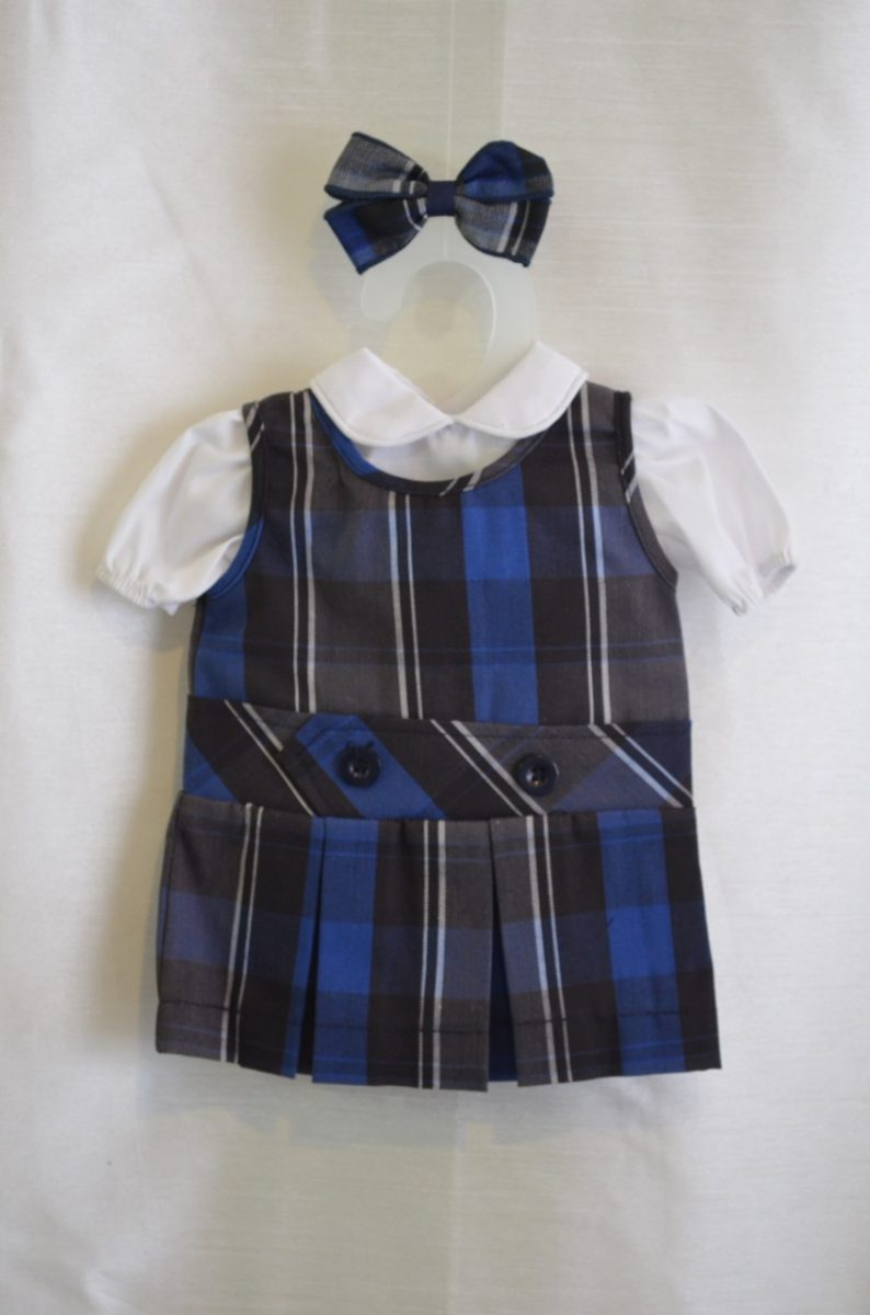 Doll Dress for Our Mother of Perpetual Help School