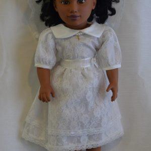 Doll Communion Dress