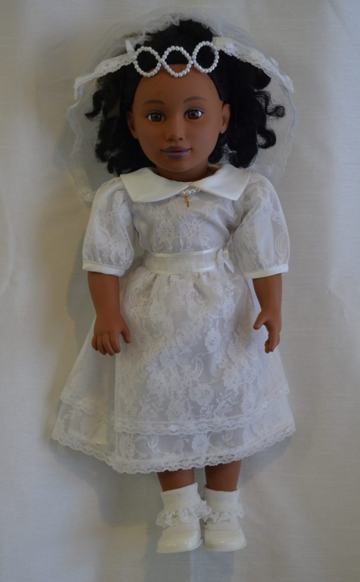 Doll Communion Dress