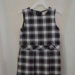 St Margaret School/ Lititz Area Mennonite Plaid Jumper