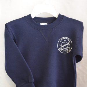 St Margaret Navy Gym Sweat Shirt