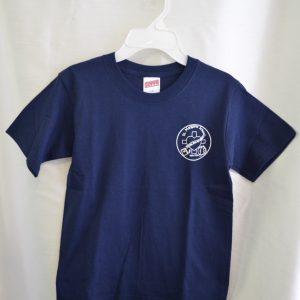 St. Margaret Short Sleeve Navy Gym T-shirt