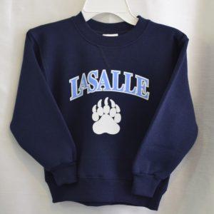 LaSalle Navy Gym Sweatshirt (Grade K-4)