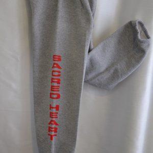 Sacred Heart Grey Gym Sweatpant
