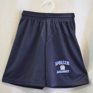 LaSalle Navy Gym Mesh Shorts