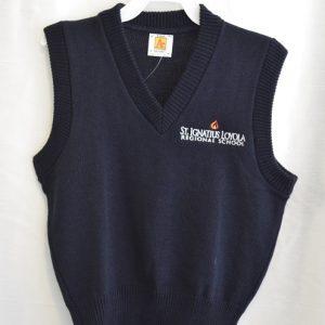 St Ignatius Navy Sweater Vest