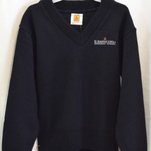St Ignatius Navy Long Sleeve Pullover Sweater