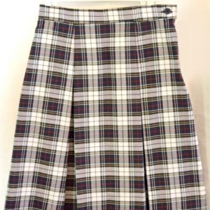 St Margaret School Plaid Skirt