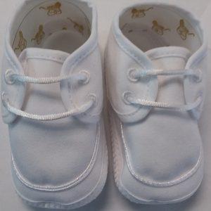 Boys White Baptism Shoe